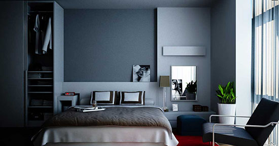 dark grey room inspirations