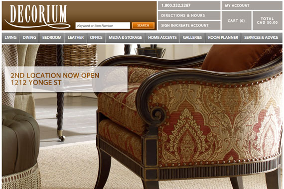 Online Shopping Becomes Possible Through New Decorium Site