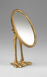 Gold Duck Mirror SKU 054556