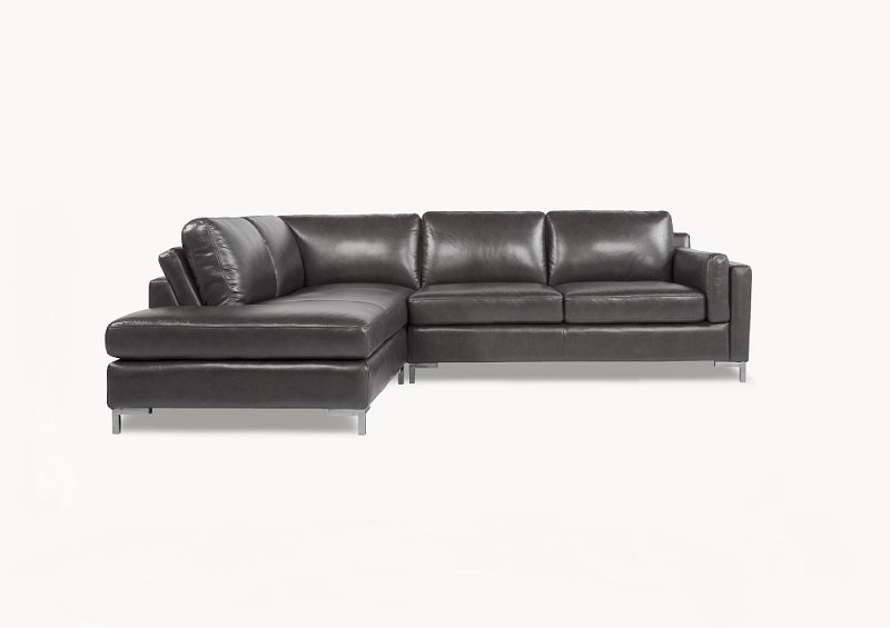 Devin 2pc Sectional SKU 901000