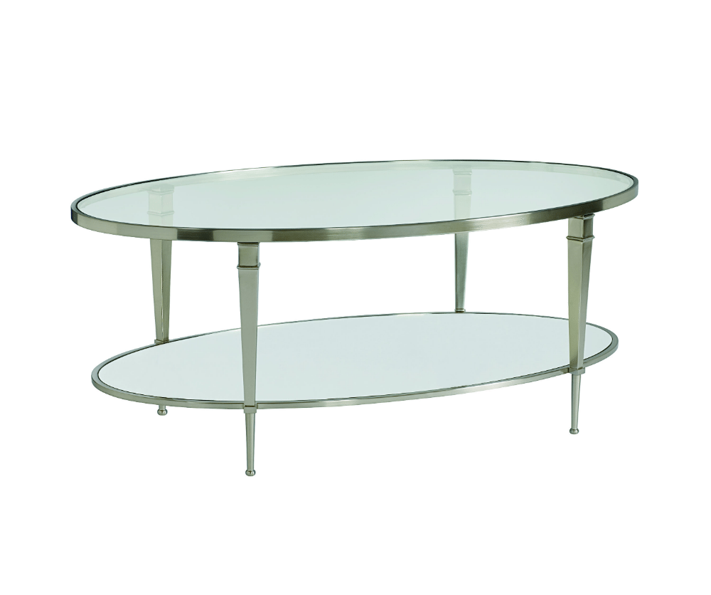 Oval Coffee Table Nest: Mullally Oval Cocktail Table