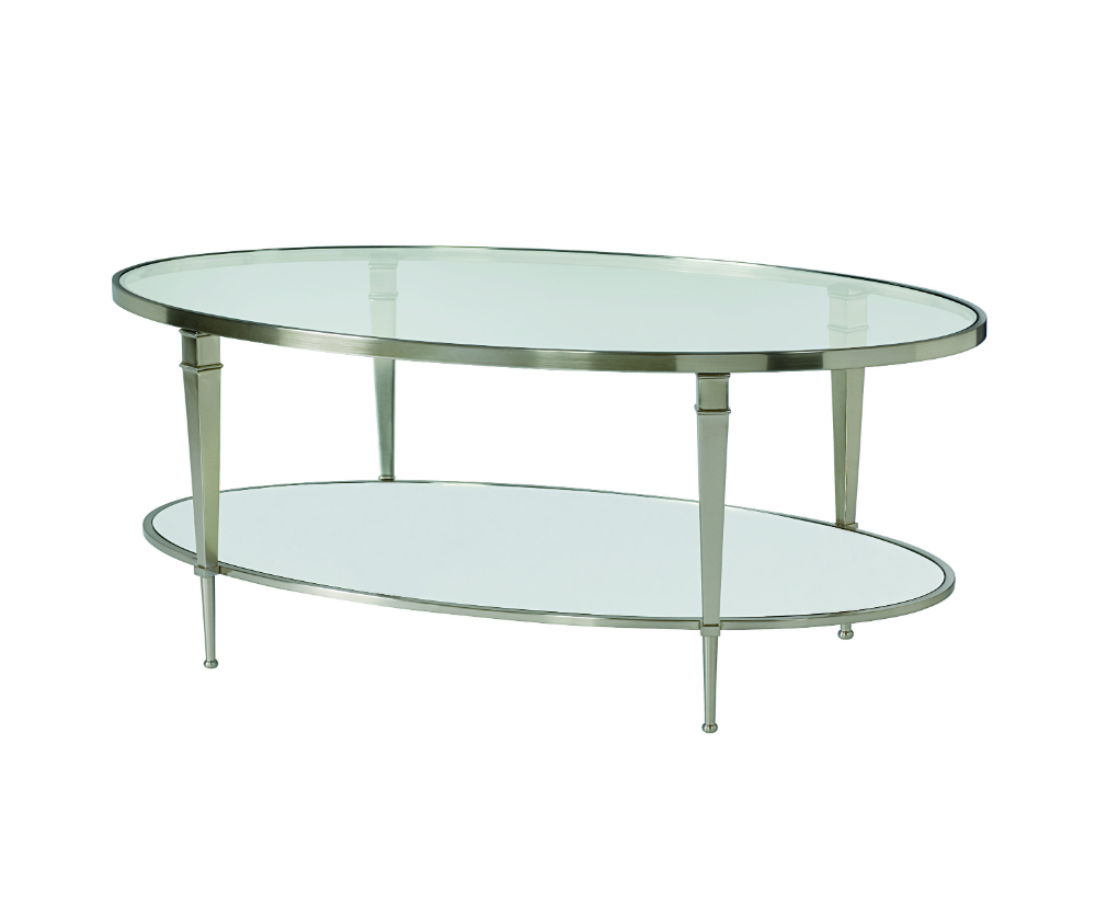Mullally oval cocktail table decorium furniture for Cocktail tables