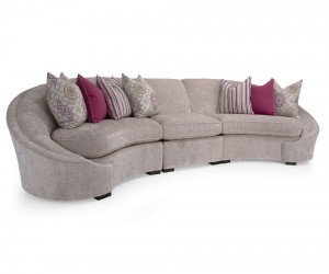 Angelina 3pc. Sectional