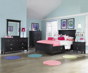 Channing Twin Panel Bed
