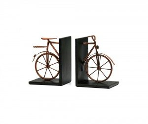 Bicycle Bookends - Pair