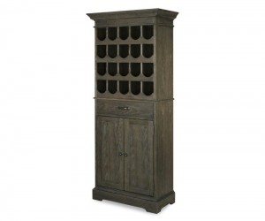 Strawberry Creek Tall Wine Cabinet