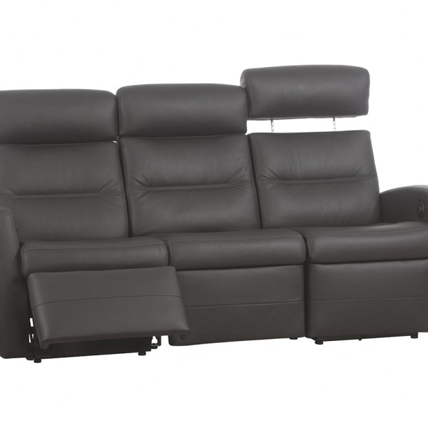 Comfort 3 seater sofa with two built in chaises decorium for 3 seater couch with chaise