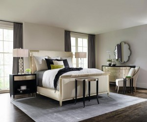 Fiona Upholstered King Bed