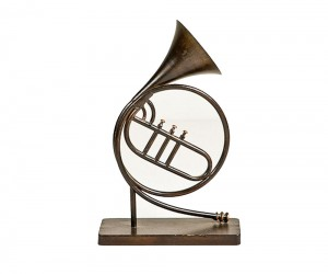 French Horn Sculpture