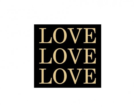 Love: Gold - Artwork