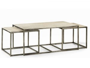Quasar Set of Three Rect. Nesting Tables