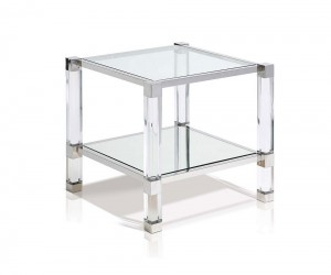 Saint Laurent Sq Lamp Table