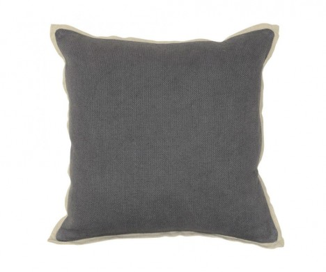 Textured Hue Asphalt Accent Pillow