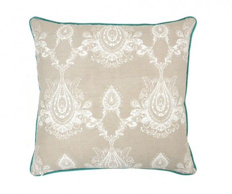 Textured Victorian Accent Pillow