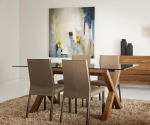 Yvette Rect Dining Table
