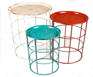 Industro Set of 3 RND Table