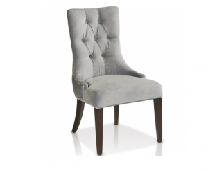 Anastasia Side Chair in Grey
