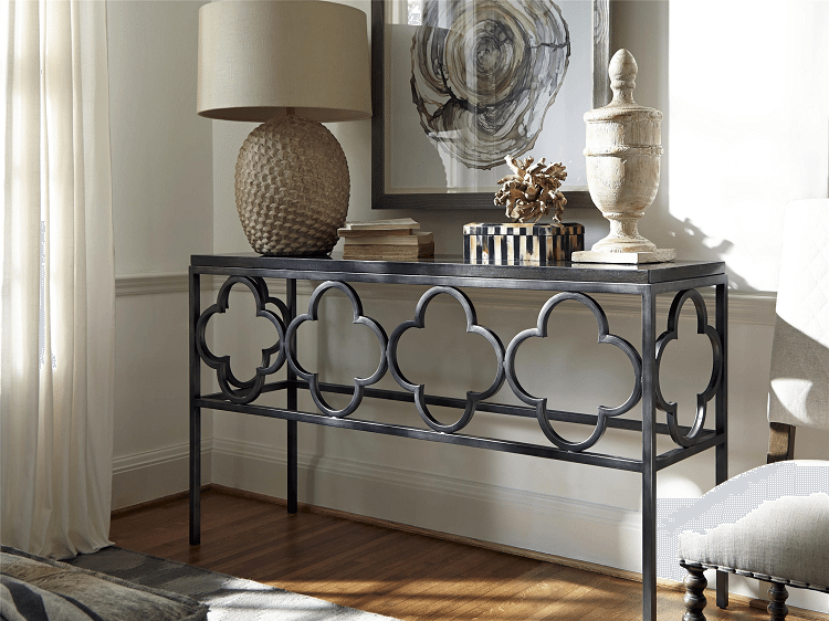 Boho Grove Console Table Roomscene