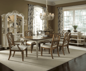 Fiore Rectangular Dining Table 38952 RS