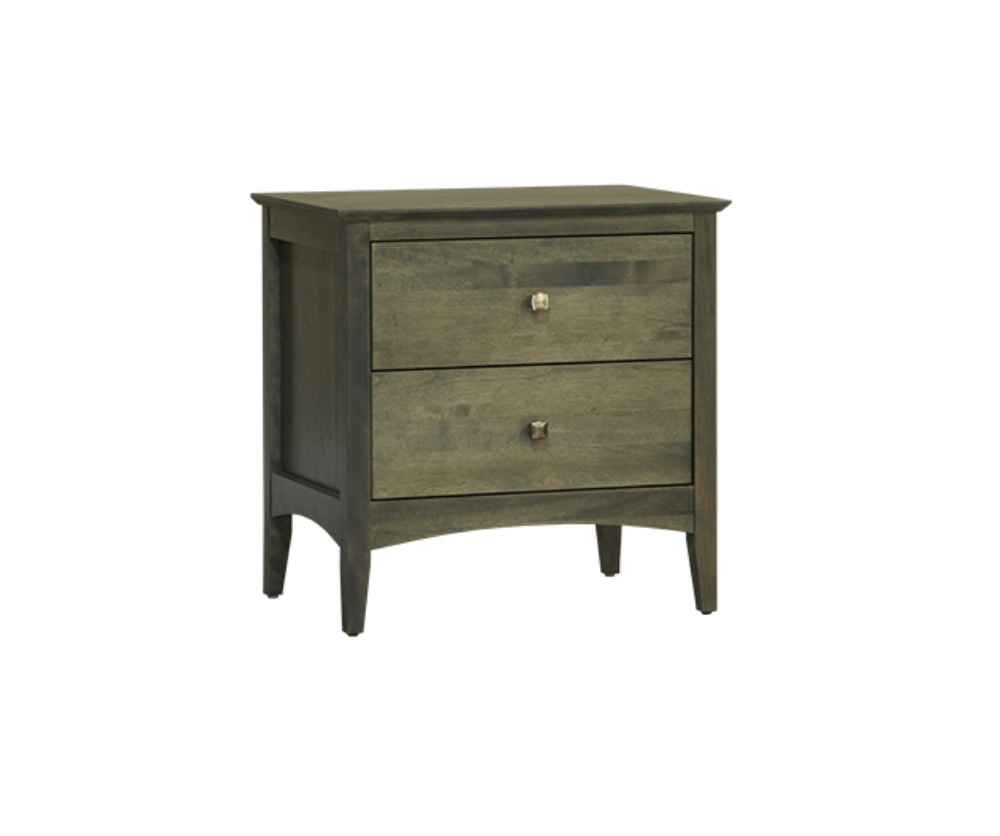 Auspice 2 Drawer Night Table Decorium Furniture