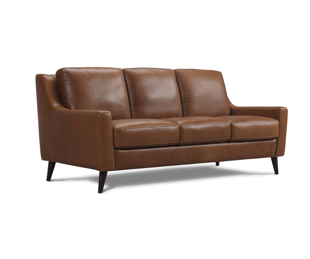 Leather sofa 66942 Silo