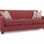 Hammond Queen Sofa Bed 68041 Red Silo