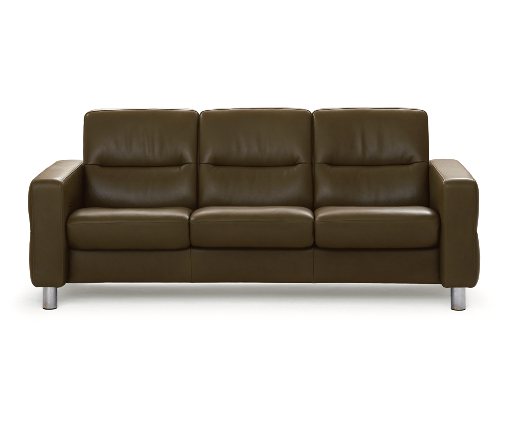 Wave 3 Seater Sofa Low Decorium Furniture