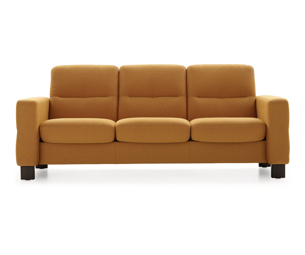 Wave 3 seater sofa low decorium furniture for Low couch