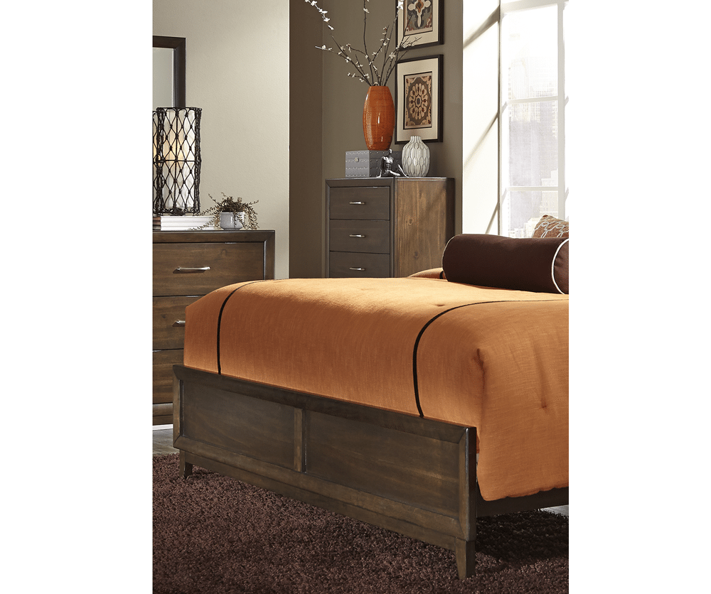 Charlton queen storage bed decorium furniture for Storage charlton