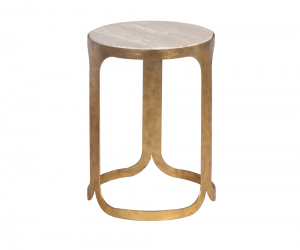 Marielle Round End Table 69085 Silo