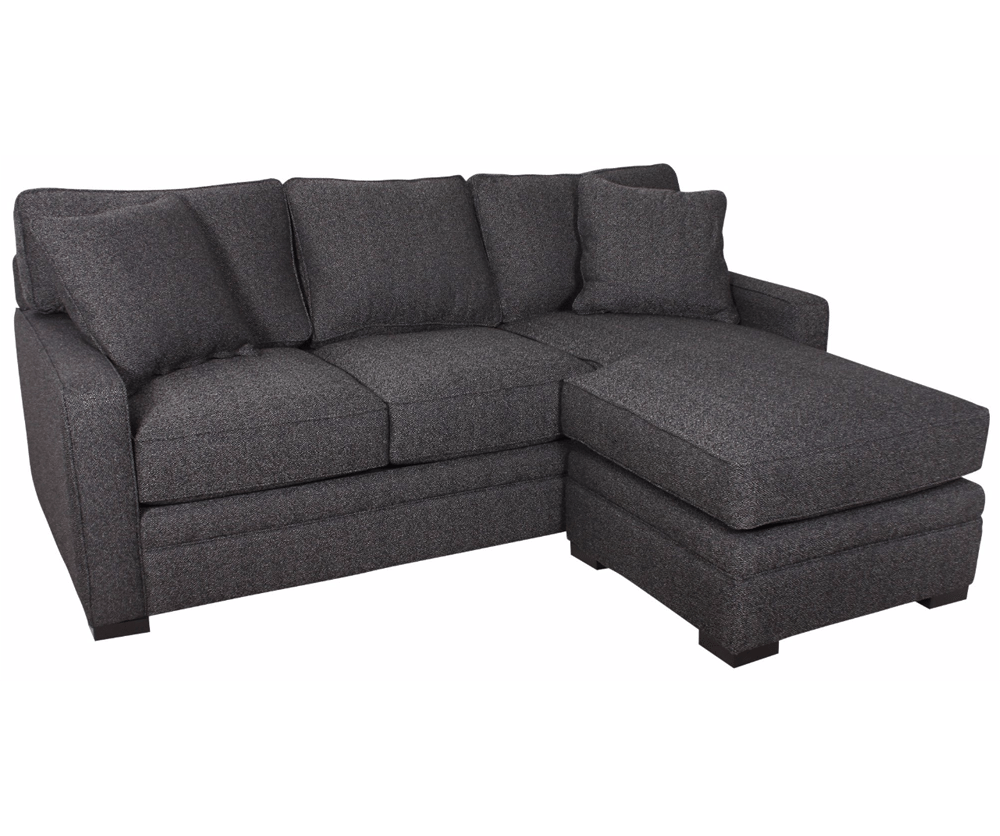 Sofa With Reversible Chaise Lounge Mercury Row Leilani