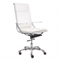 Ryder HB White office chair Silo 1