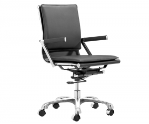 Ryder LB Black office chair silo 1