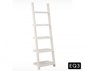 Asterix ladder shelf white Silo 1