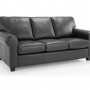 Maggie 3s Leather Sofa bed Silo 1