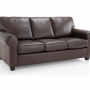 Maggie 3s Leather Sofa bed Silo 2