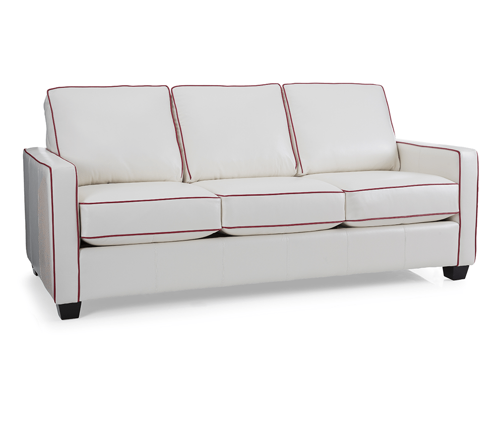 Robertson Queen Leather Sofabed