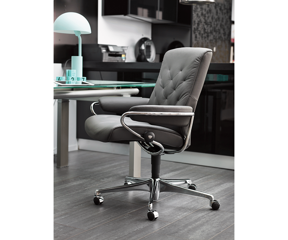 metro low back office chair