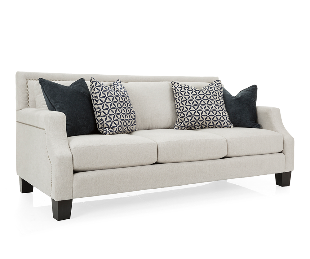 Fabric Furniture: Andrea 3 Seat Fabric Sofa