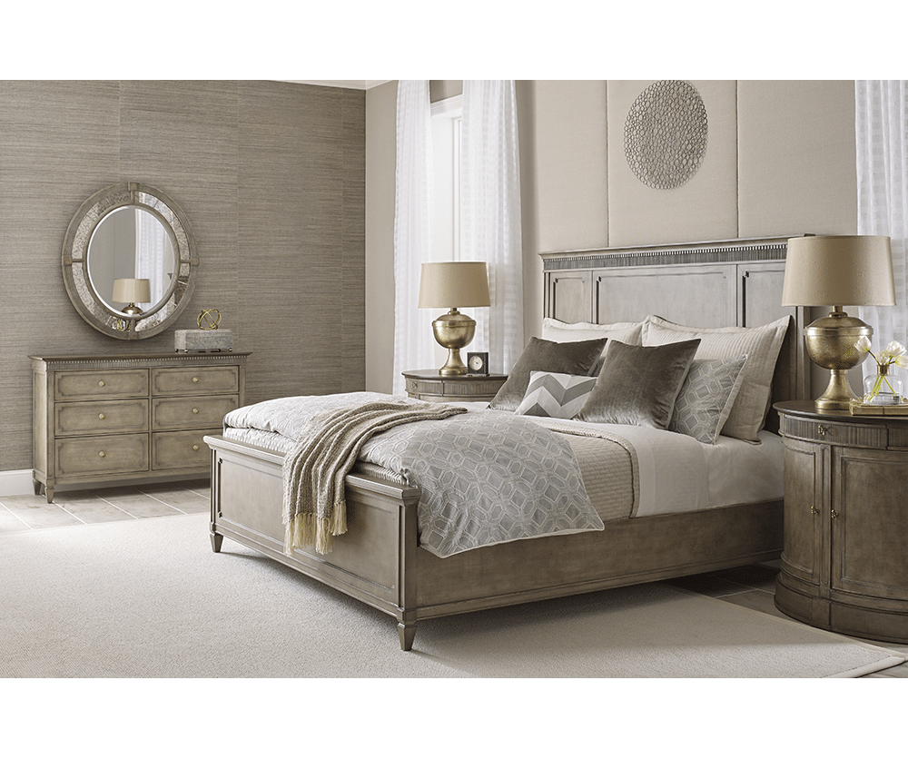 Gustav III King Panel Bed 902875 RS 1
