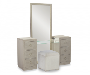 Combination Full Length Mirror And Jewelry Box