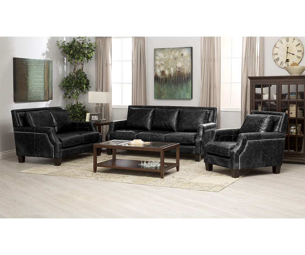 Andrea 4 Seat Fabric Sofa Decorium Furniture