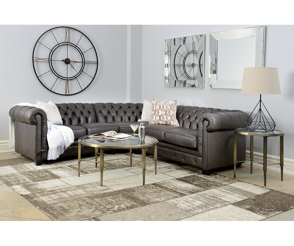 Hudson Leather Sofa Decorium Furniture